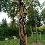 Skulptur på Vissenbjerg Kirkegård 2
