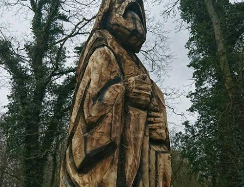 Sædemanden på Ollerup Kirkegård